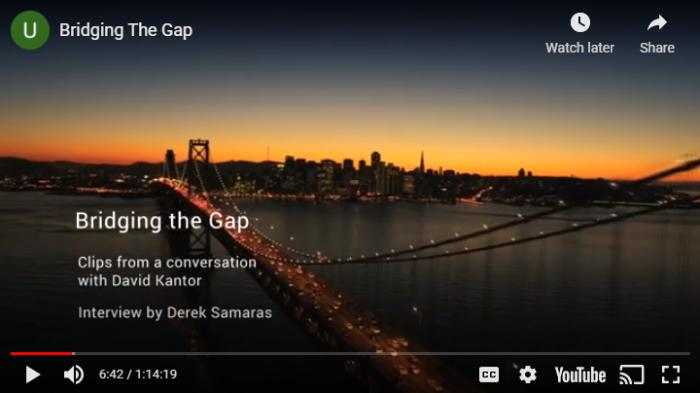 Bridging the Gap by David Kantor